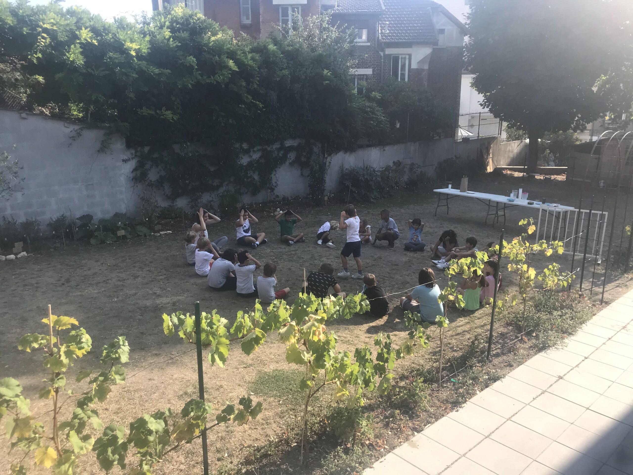 Le jardin du patronage
